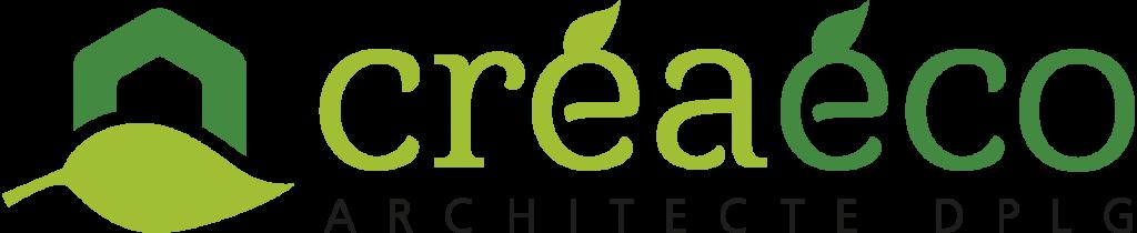 Logo de créaéco architecte dplg
