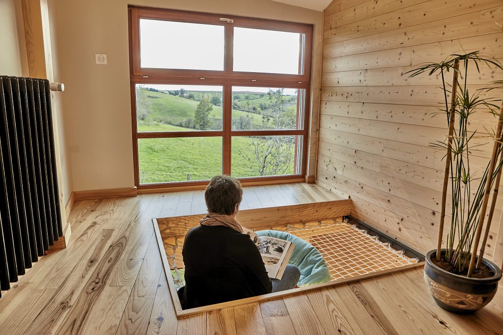 Création d'un habitat avec une optimisation de l'orientation des fenêtres pour une éclairage naturel et à moindre frais